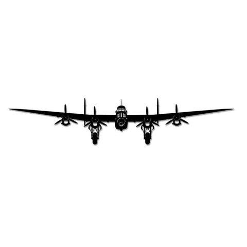 Lancaster Bomber Silhouette