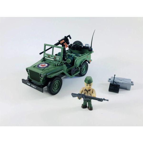 Cobi RCAF Jeep Cobi 90 pieces (Limited Edition)
