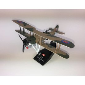 Pilot Collectibles Fairey Swordfish Royal Canadian Navy HS469 Shearwater 1940 1:72 with stand (plastic)