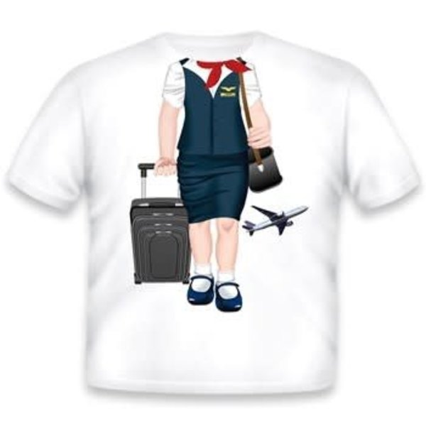 Kid's T-Shirt Flight Attendant