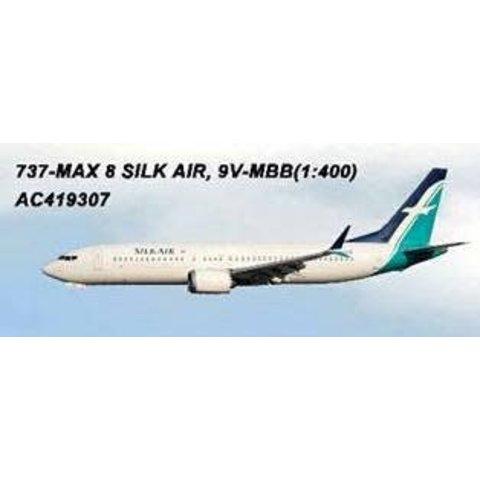 B737 MAX8 Silk Air 9V-MBB 1:400