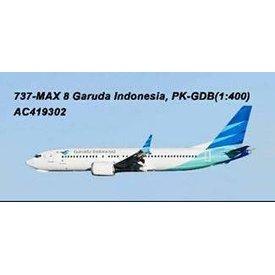 AeroClassics B737 MAX8 Garuda Indonesia PK-GDB 1:400
