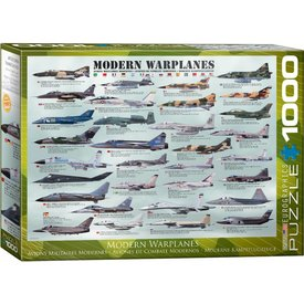 Puzzle Modern Warplanes 1000 pieces