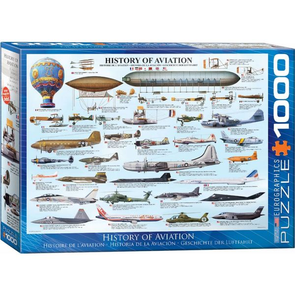 Puzzle History of Aviation 1000 pieces