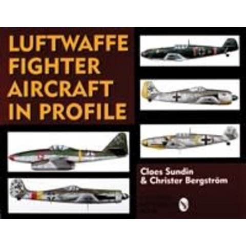 Luftwaffe Fighter Aircraft in Profile hardcover