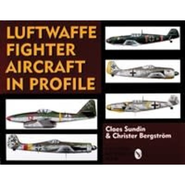 Schiffer Publishing Luftwaffe Fighter Aircraft in Profile hardcover