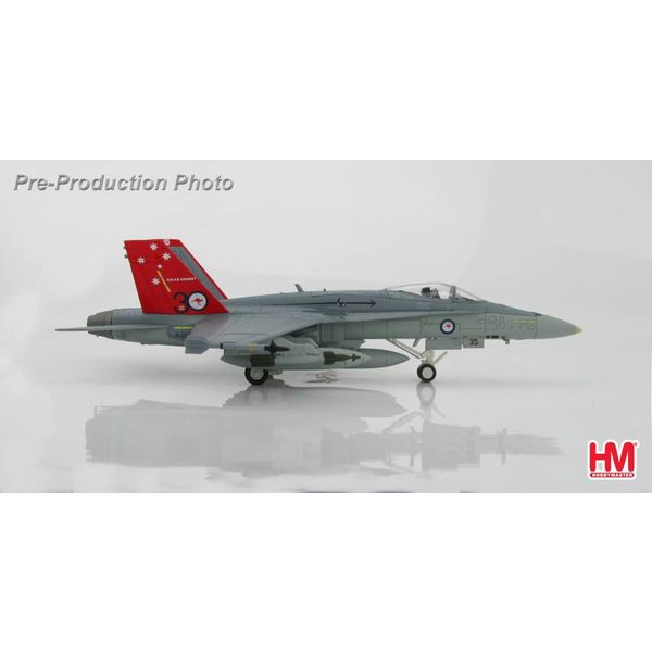 Hobby Master FA18A RAAF 30th Anniversary of F18 1:72 with stand