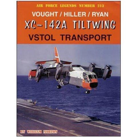 Vought / Hiller / Ryan XC142A Tiltwing VSTOL Transport: AFL #213 softcover