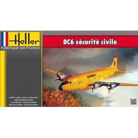 HELLE DC6 Securite Civil 1:72