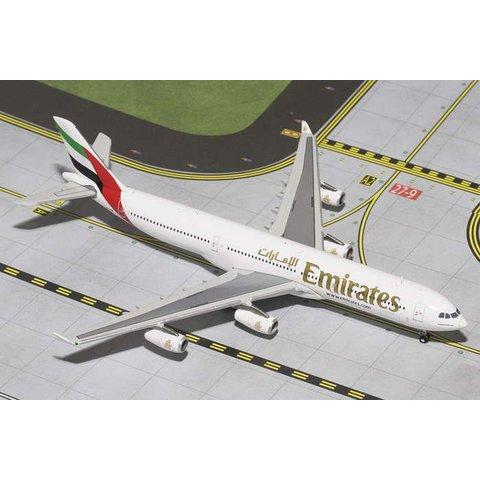 A340-300 Emirates A6-ERT 1:400