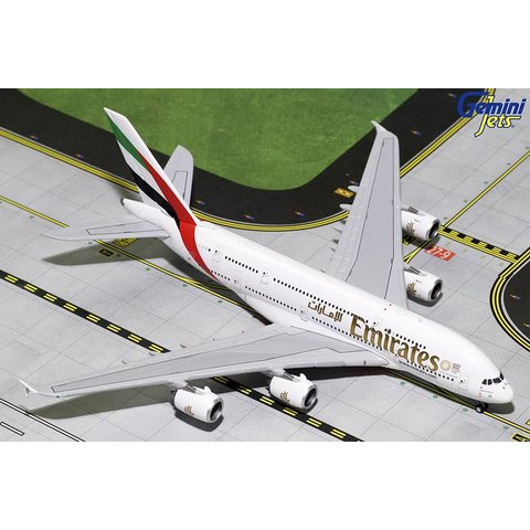 A380-800 Emirates New Expo 2020 A6-EUC 1:400