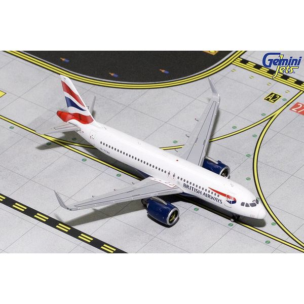 Gemini Jets A320neo British Airways Union jack Livery 1:400
