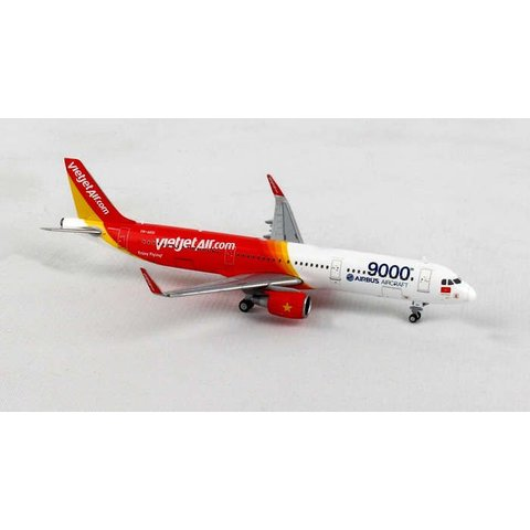 A321S Vietjet 9000th Airbus 1:400