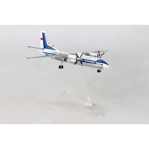 Herpa AN24RV Aeroflot CCCP-46466 1:200 with stand