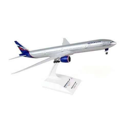 B777-300 Aeroflot 2003 livery 1:200 gear+stand