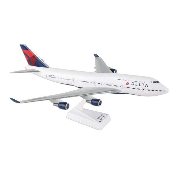 B747-400 Delta 2007 livery 1:200 with stand