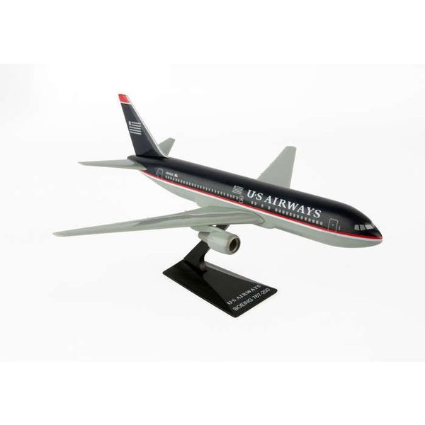 B767-200 US Airways 1997 black livery 1:200 with stand