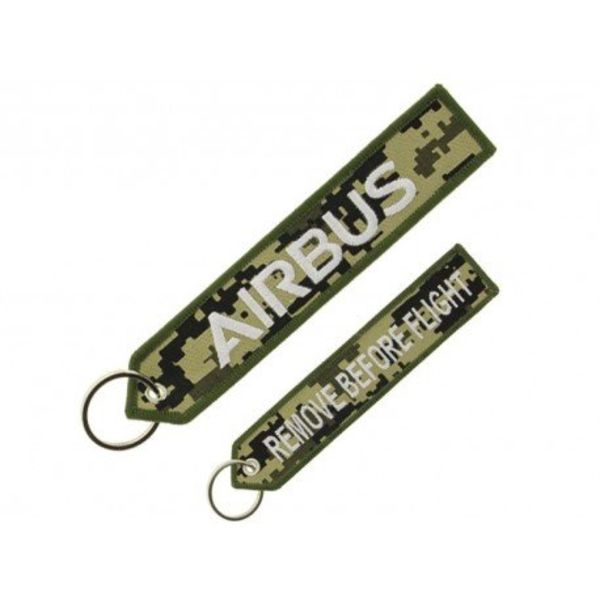 "Airbus Military Airbus ""remove before flight"" key ring"