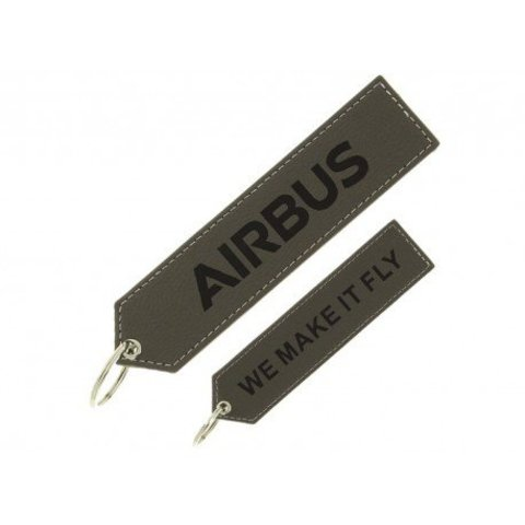 "Executive Airbus ""remove before flight"" key ring"