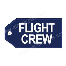 Luggage Tags Flight Crew Reflex Blue