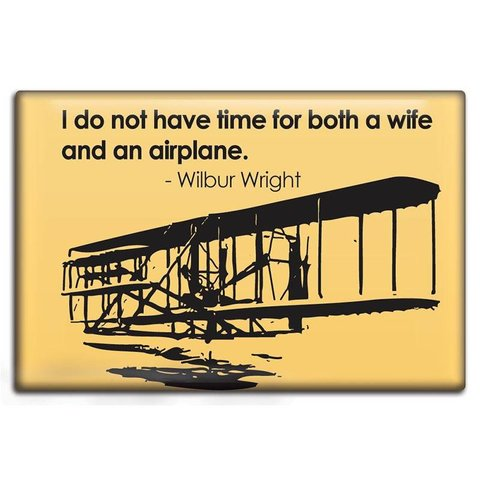 Magnet Wife vs. Airplane