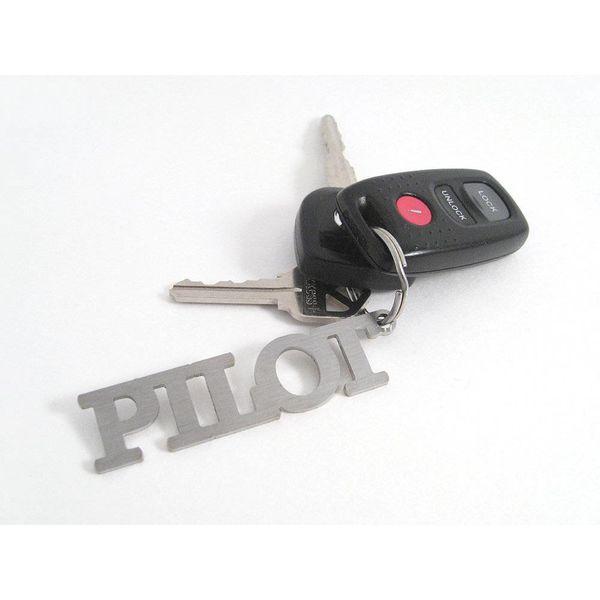 Pilot Stainless Steel Keychain