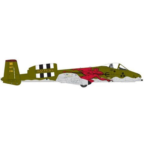 A10C USAF 107FS Red Devils Michigan ANG 1:200 (no stand)