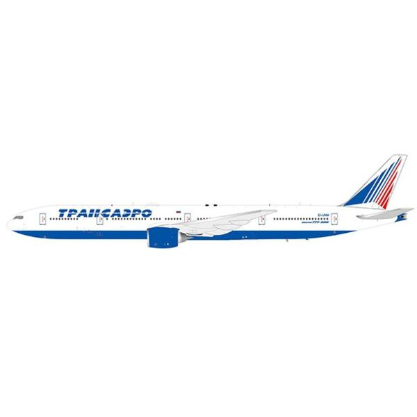 JC Wings JCWIN B777-300 TRANSAERO EI-UNM w/Stand