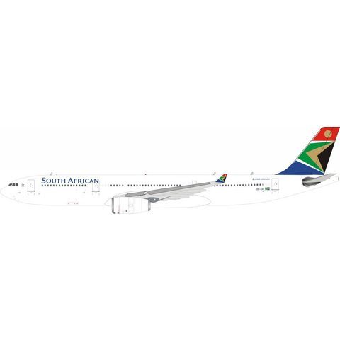 A330-300 South African Airways ZS-SXI 1:200 With Stand