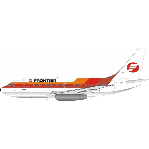 InFlight B737-200 Frontier N7388F Original Livery 1:200 With Stand