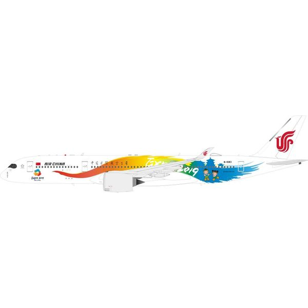 InFlight A350-900 Air China Beijing Expo 2019 B-1083 1:200 With Stand
