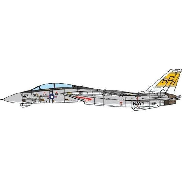 JC Wings F14B Tomcat VF-32 Swordsmen USS Harry S. Truman CVN75 AC-112 2005 1:72 (no stand)