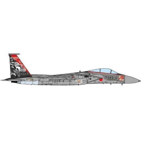 F15J Eagle 201 Hikotai / TFS Fighting Bears 60th Anniversary 2014 1:72 (no stand) +NSI+