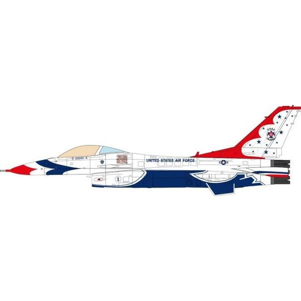 JC Wings F16C Fighting Falcon US Air Force Thunderbirds 1 70th Anniversary 2017 1:72 (no stand)
