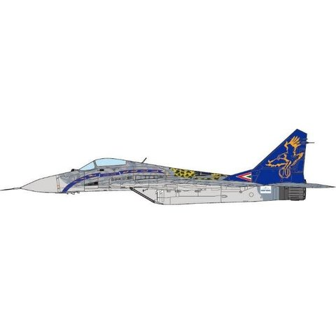 MIG29 Fulcrum 59th TFW Hungarian Air Force WHITE11 Szentgyorgui Dezso 70th Anniversary 2010  1:72 (no stand)