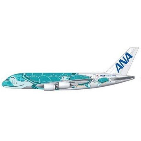 A380-800 ANA Sea Turtle Kai Green JA382A 1:200 with stand