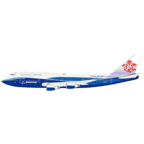 B747-400 China Airlines Dreamliner livery 1:200 with stand