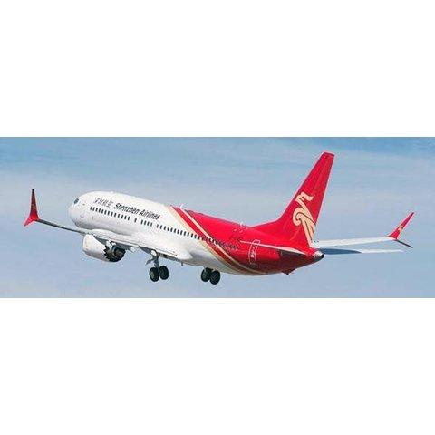 B737 MAX8 Shenzhen Airlines B-1146 1:400