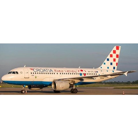 A319 Croatian Airlines Bravo Vatreni 9A-CTL 1:400