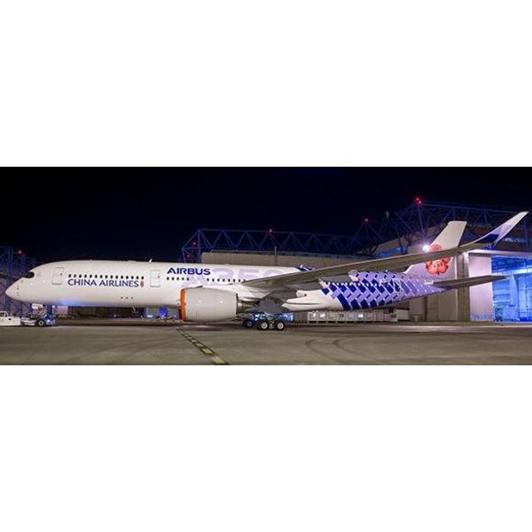 JC Wings A350-900XWB China Airlines Carbon Fibre B-18918 1:400