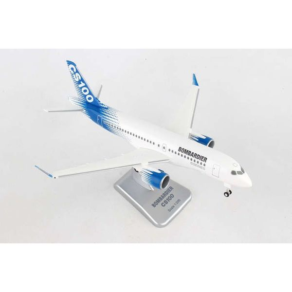 Hogan Bombardier House CS100 CSeries Bombardier 1:200 with Gear + stand