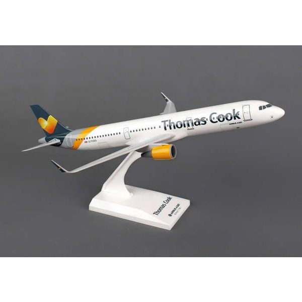 SkyMarks A321 Thomas Cook A321S new livery 1:150 with stand + GearW/Gear New Livery