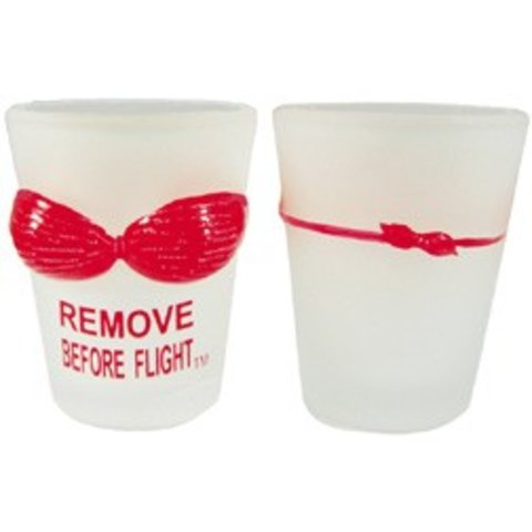 Shot Glass Remove Before Flight Bikini