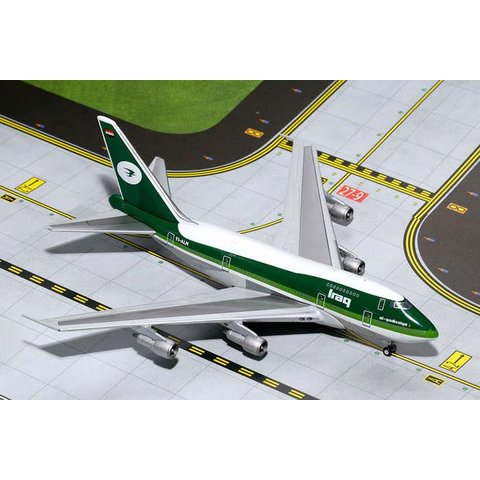 B747SP Iraqi Airways Old Livery YI-ALM 1:400