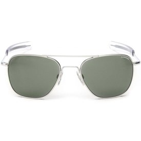 Randolph Engineering Aviator Matte Chrome Bayonet Glass AGX AR 55 Sunglasses
