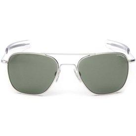 Randolph Engineering Aviator Matte Chrome Bayonet Glass AGX AR 55 Sunglasses