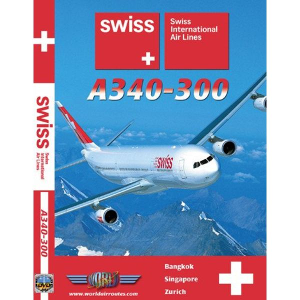 justplanes DVD Swiss International A340-300**o/p**
