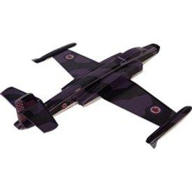 OSBORN MODELS Balsa CF100 Canuck RCAF camouflage 1:100