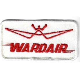 """avworld.ca Patch Wardair 3 7/8"""" x 2"""""""