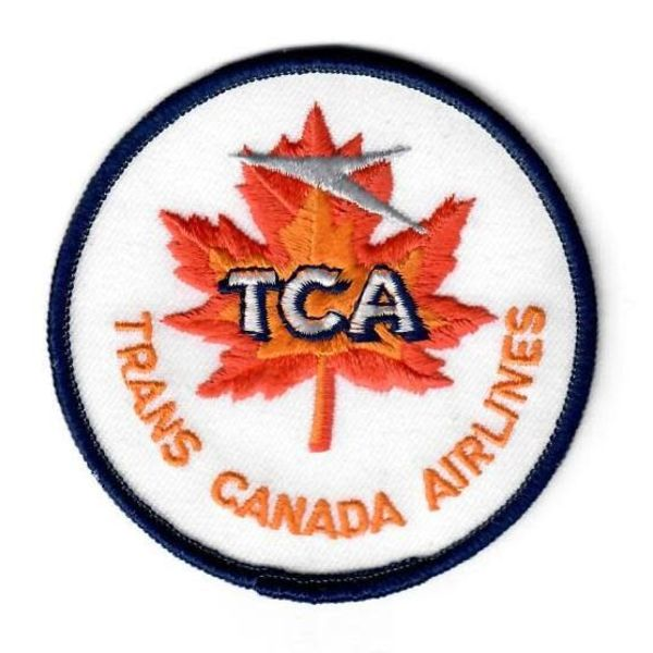 avworld.ca Patch TCA Trans Canada Airlines round 3""